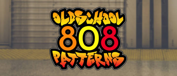 Oldschool 808 Patterns Banner